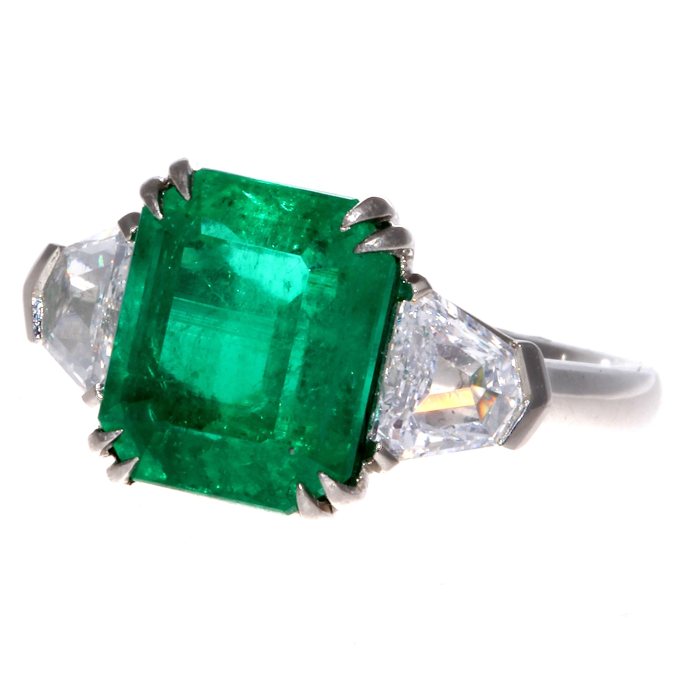 the emeral emerald rings including helen hay from pin of whitney estate a pair