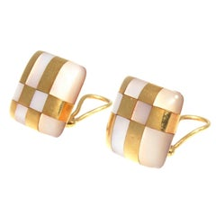Tiffany & Co. Mother-of-Pearl Gold Earrings