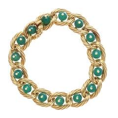 Van Cleef & Arpels Chyrsophrase Gold Bracelet