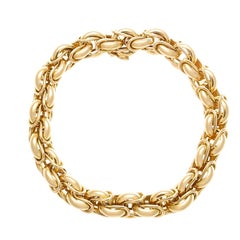 Cartier Paris Gold Link Bracelet
