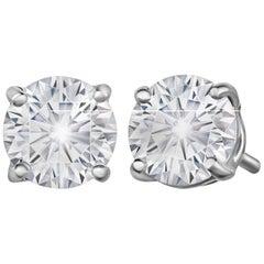 Marisa Perry 80 Point Forevermark Diamond Studs in Platinum