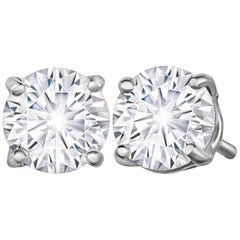Marisa Perry 72 Point Forevermark Diamond Studs in Platinum