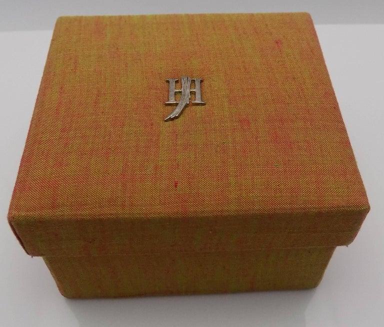 18 Karat Yellow Gold/Sterling Silver John Hardy Jaisalmer Aquamarine Cuff For Sale 8