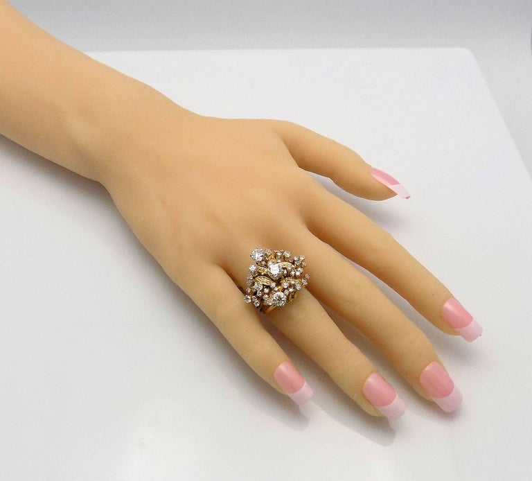 Diamond Cluster Ring For Sale 1