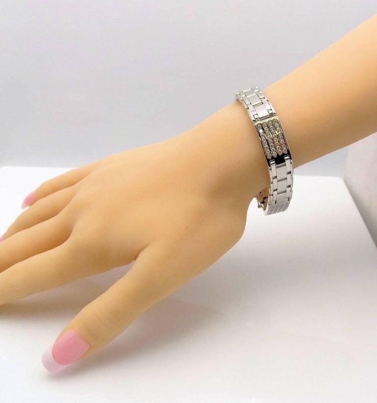 Diamond Line Bracelet In New Condition For Sale In Dallas, TX