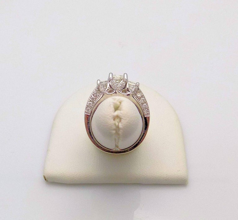 Princess Cut Diamond Engagement Ring For Sale
