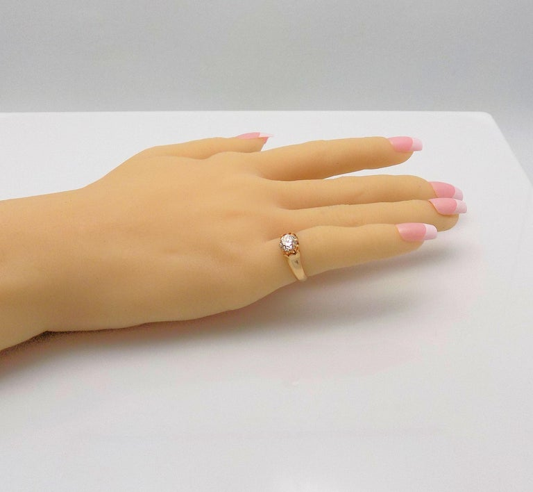 Women's Diamond Solitaire Ring For Sale