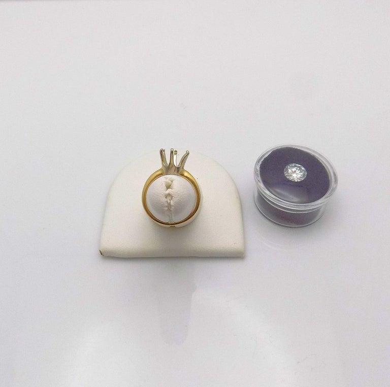 GIA Certified 2.11 Carat Round Brilliant Diamond For Sale 2