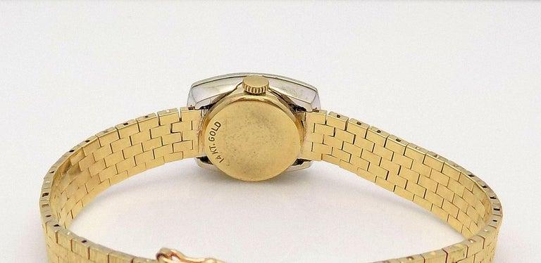 Ladies Diamond Girard Perregaux Wristwatch For Sale 2