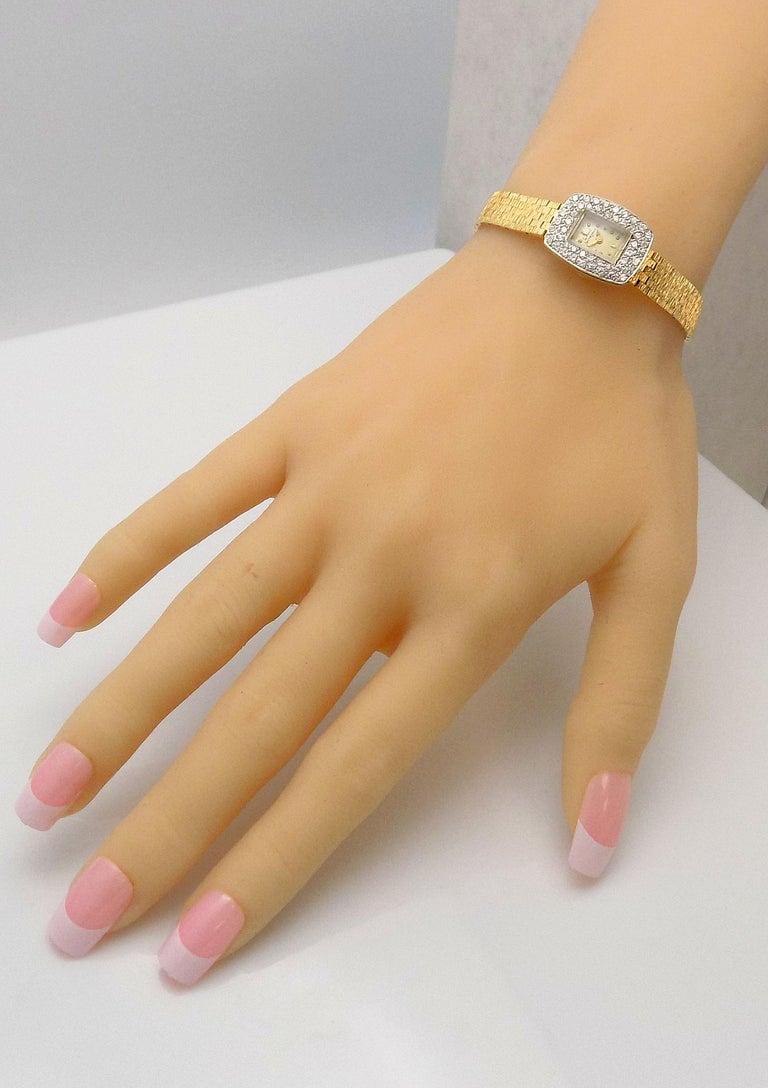 Ladies Diamond Girard Perregaux Wristwatch For Sale 4