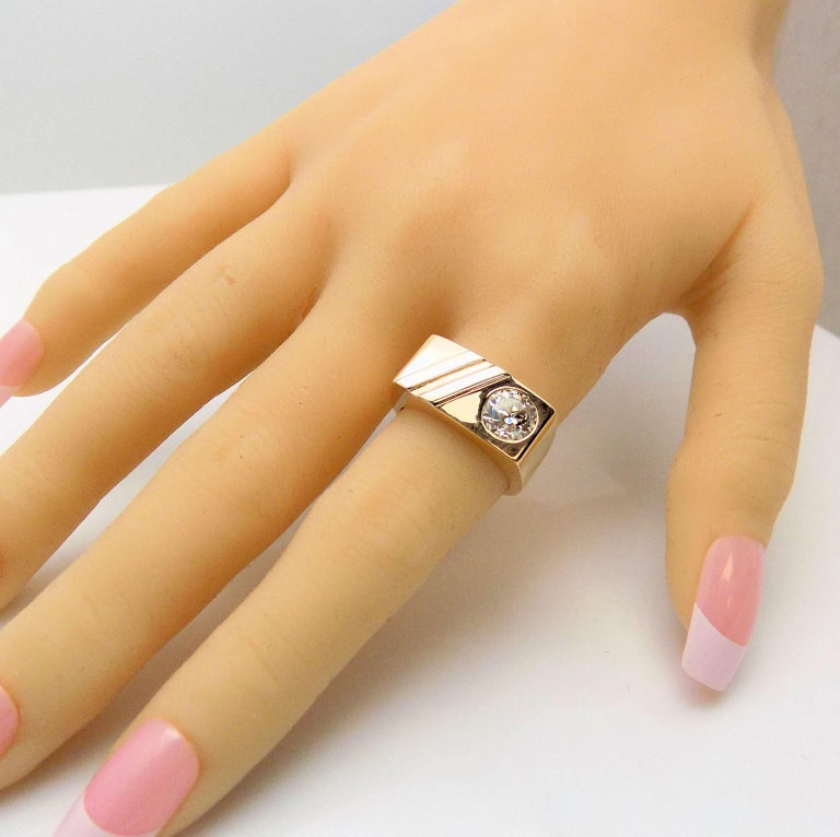 Men's Gent's Diamond Ring For Sale