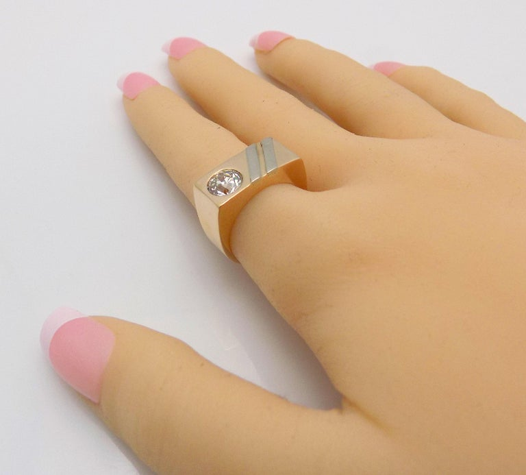 Gent's Diamond Ring For Sale 1