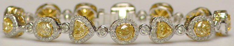 Yael Jewelry Yellow Diamond Bracelet 2