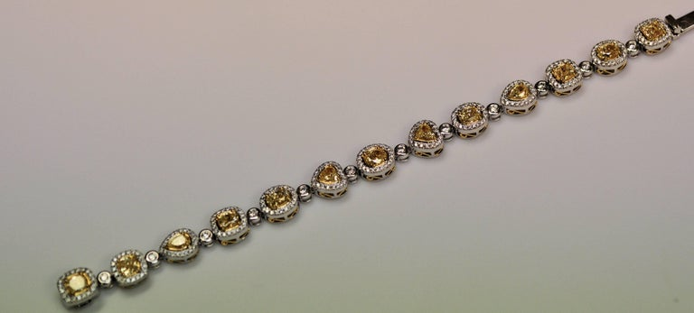 Yael Jewelry Yellow Diamond Bracelet 3