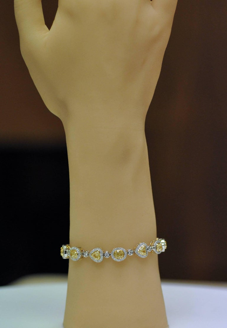 Yael Jewelry Yellow Diamond Bracelet 7