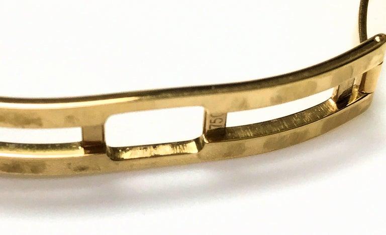 Van Cleef & Arpels Ladies Yellow Gold Diamond Classique Quartz Wristwatch For Sale 1