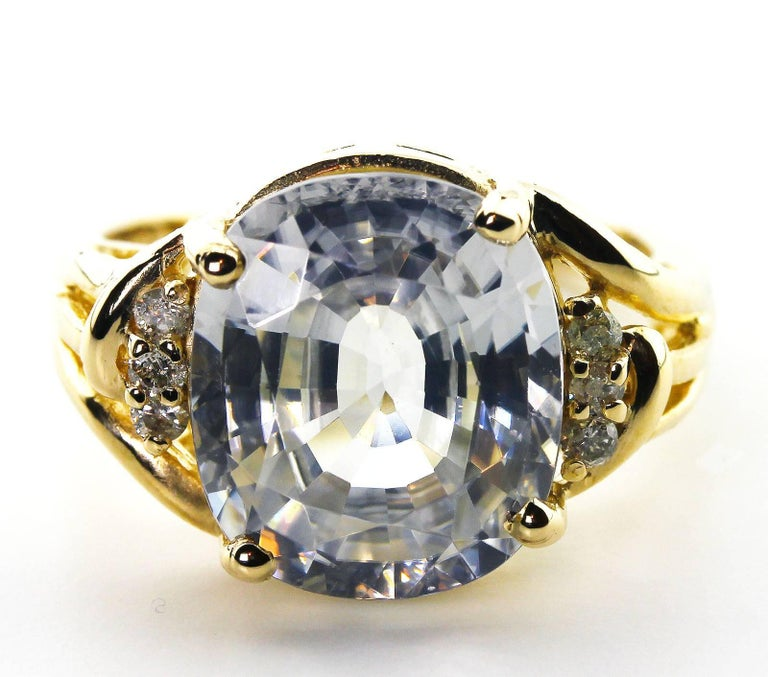 glittering sapphire ring for sale at 1stdibs