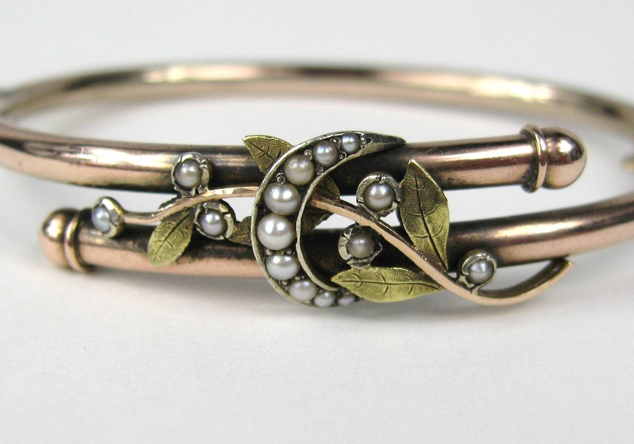 bangle w bangles victorian grams gold watch diamonds mine bracelet rose cut