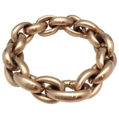 Satin Pink Gold Hermès Bracelet