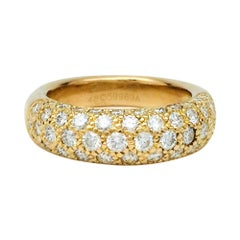 Yellow Gold and Diamonds Cartier Ring