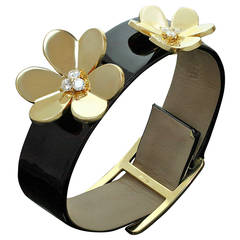 Van Cleef & Arpels Gold Frivole Bracelet