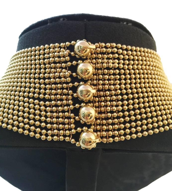 Cartier Sublime Diamond Gold Draperie Necklace Set   4