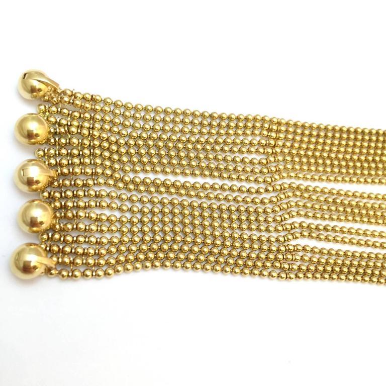 Cartier Sublime Diamond Gold Draperie Necklace Set   6