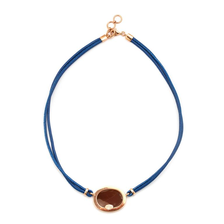Amedeo Wise Monkeys Necklace with Sapphires 4