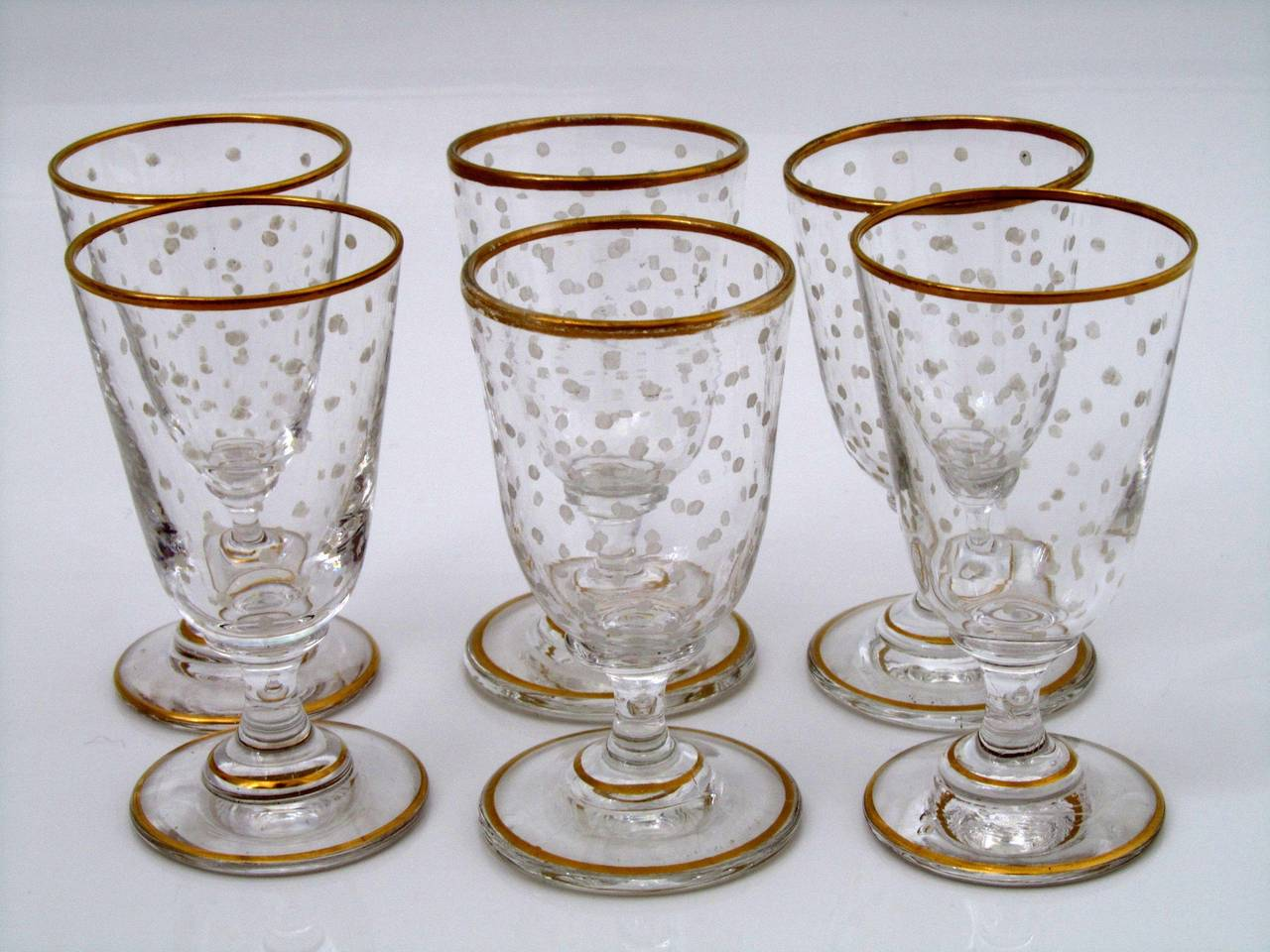 1870s french gold enamel crystal baccarat liquor or aperitif service 8 pc for sale at 1stdibs. Black Bedroom Furniture Sets. Home Design Ideas