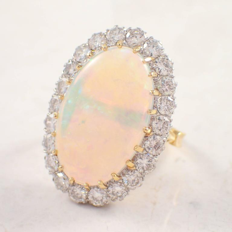 1950s opal gold ring at 1stdibs