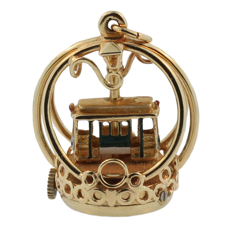 Mechanical Quot Dankner Quot Cable Car Living Charms At 1stdibs