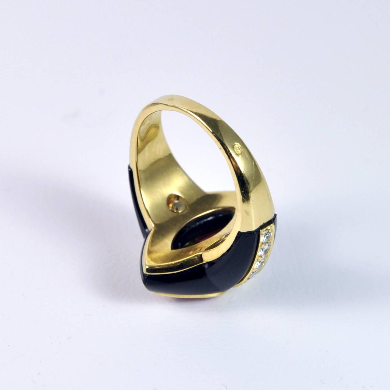 Black Tourmaline Protection Ring