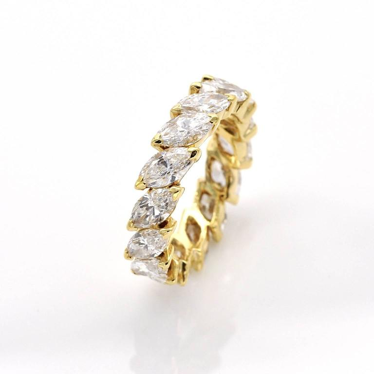 Marquise Diamond Eternity Rings