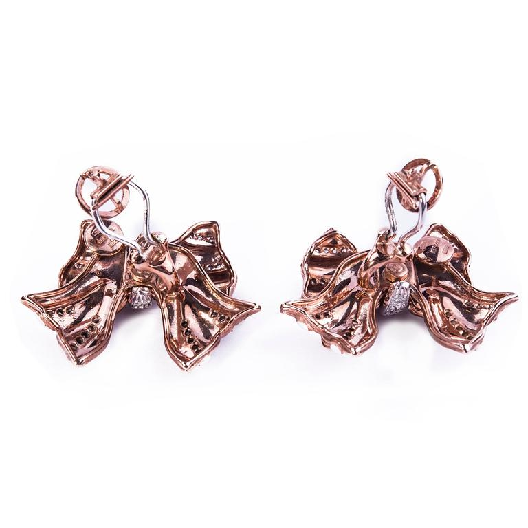 Repossi Diamond Gold Earrings 2