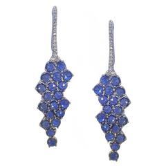 """California"" Sapphires Earrings"