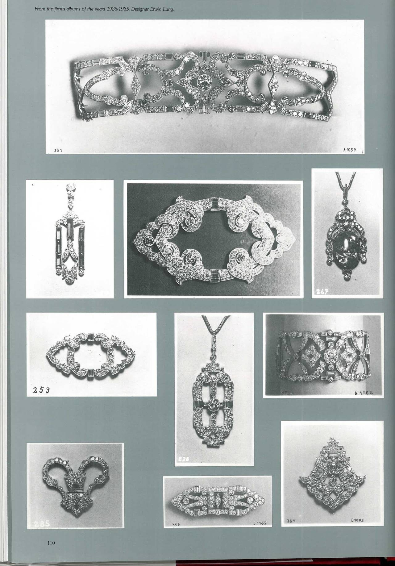 Women's or Men's Book of Kochert - Imperial Jewellers in Vienna - Jewellery Designs 1810-1940 For Sale