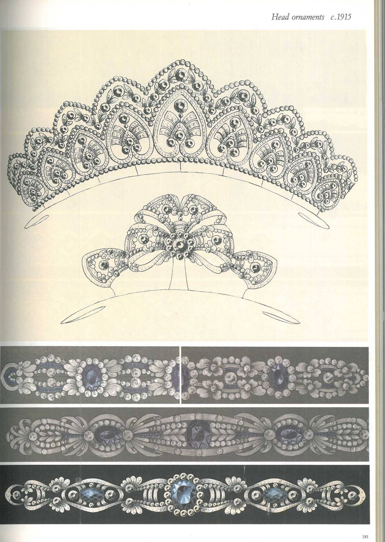 Book of Kochert - Imperial Jewellers in Vienna - Jewellery Designs 1810-1940 For Sale 1