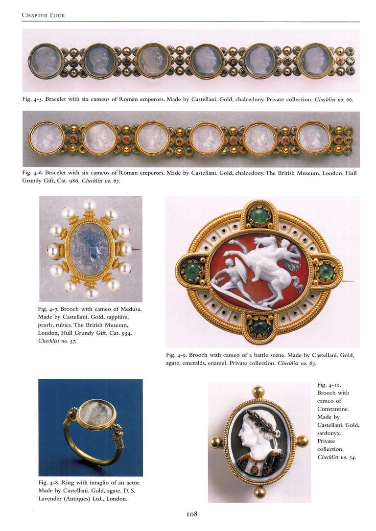 Victorian Castellani and Italian Archaeological Jewelry Book For Sale