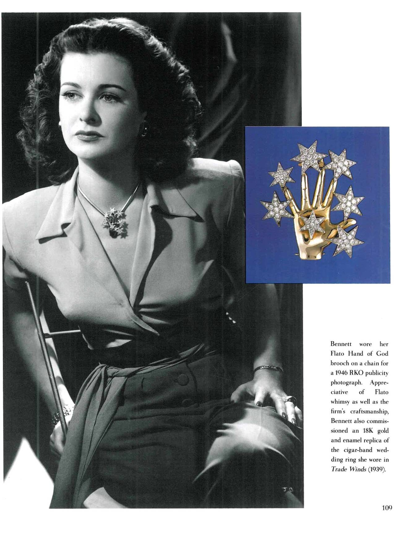 Book of HOLLYWOOD JEWELS - Movies, Jewelry, Stars For Sale 3