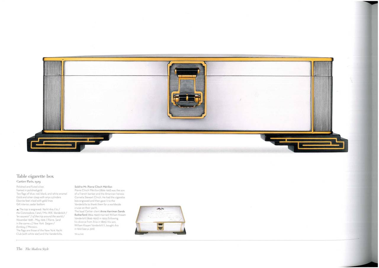 Book of The Cartier Collection Precious Objects For Sale 4