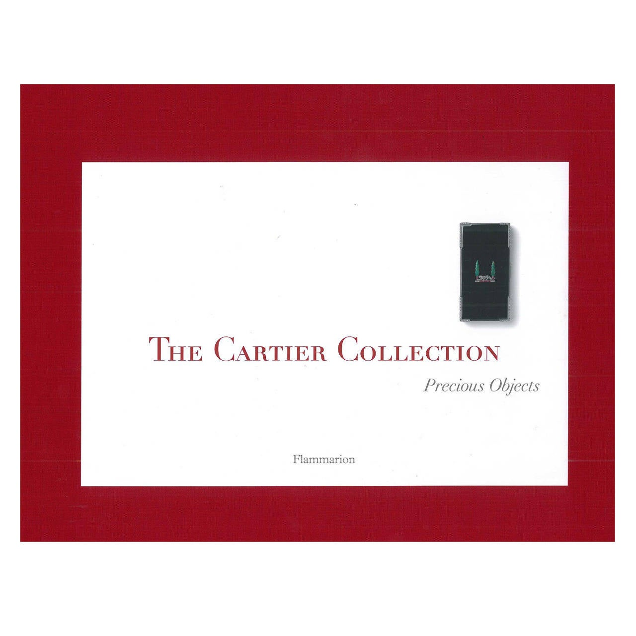 Book of The Cartier Collection Precious Objects For Sale