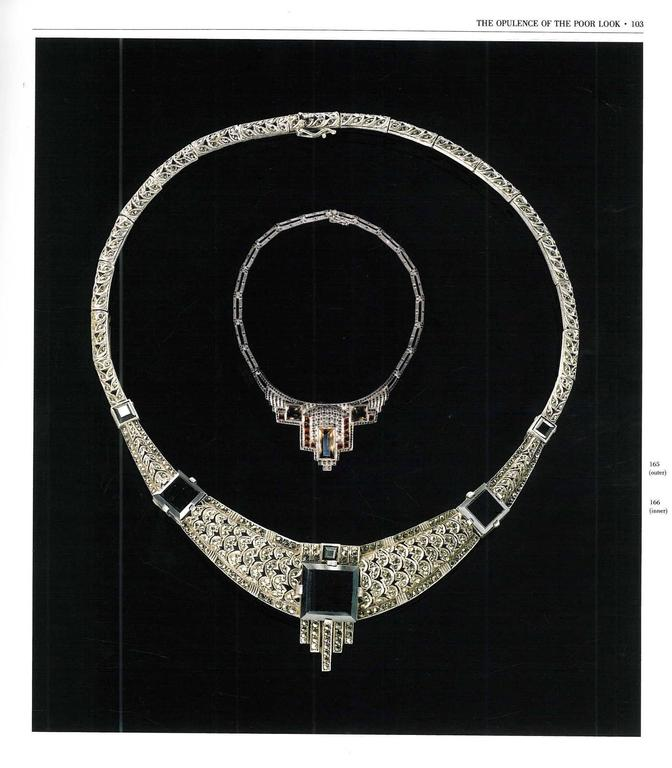 Book of Jewels of Fantasy, Costume Jewelry of the 20th Century In Excellent Condition For Sale In London, GB