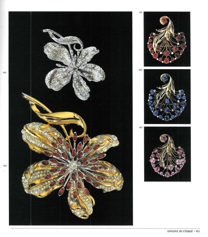 Book of Jewels of Fantasy, Costume Jewelry of the 20th Century For Sale 1