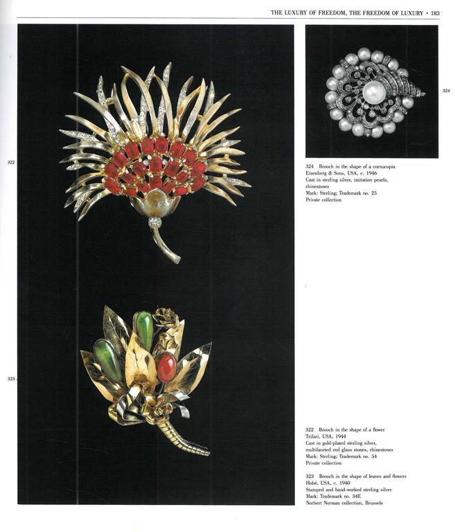 Book of Jewels of Fantasy, Costume Jewelry of the 20th Century For Sale 3
