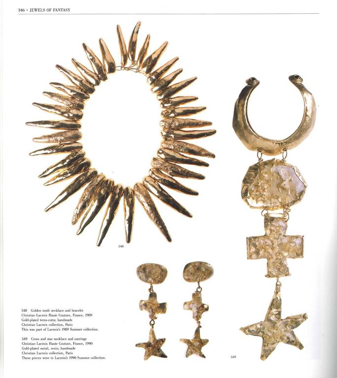 Book of Jewels of Fantasy, Costume Jewelry of the 20th Century For Sale 6