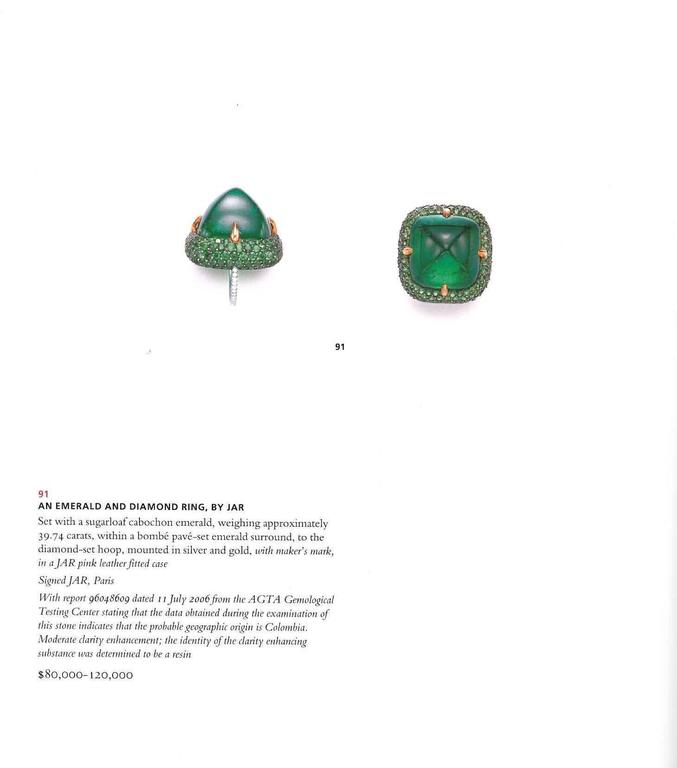 Book of Magnificent Jewels from the Collection of Ellen Barkin - Christie's  1