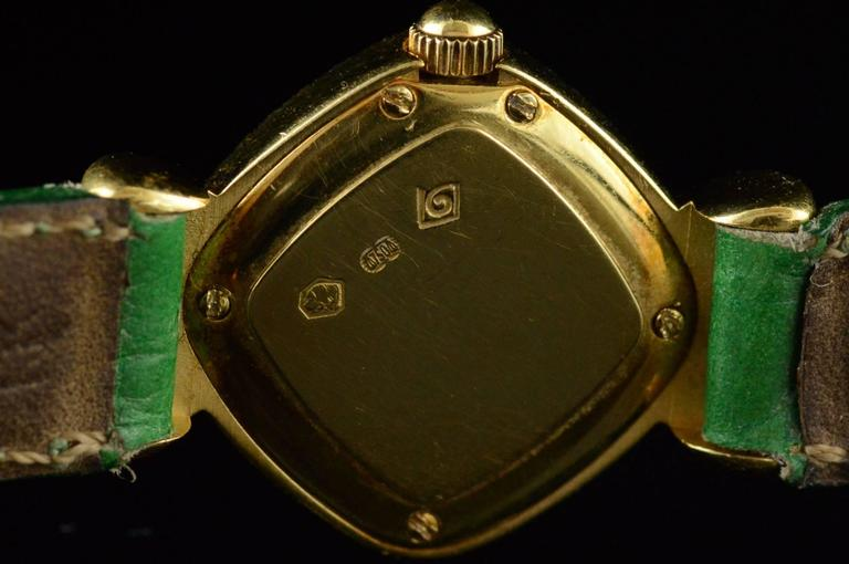 Delance Swiss Diamond & Gold Watch For Sale 1