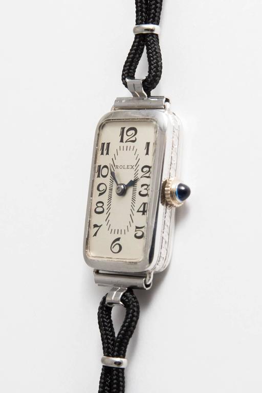 Rolex Ladies White Gold Wristwatch 3