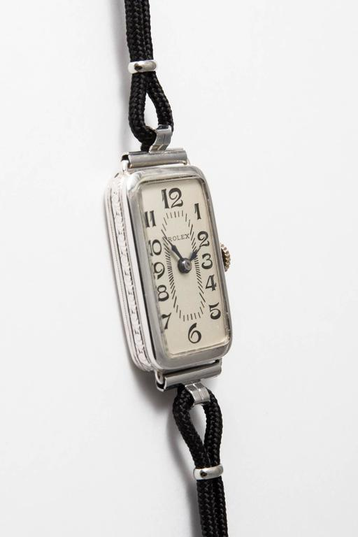 Rolex Ladies White Gold Wristwatch 2