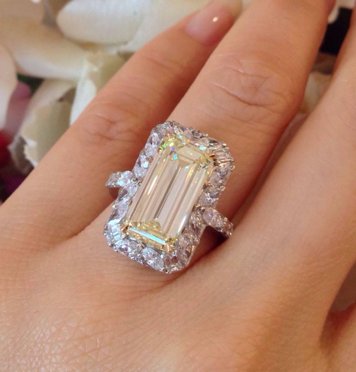 Emerald Diamond Ring Settings